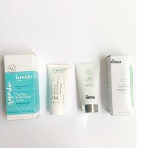 NWB dr brandt sleeping mask& Lavido age away cream